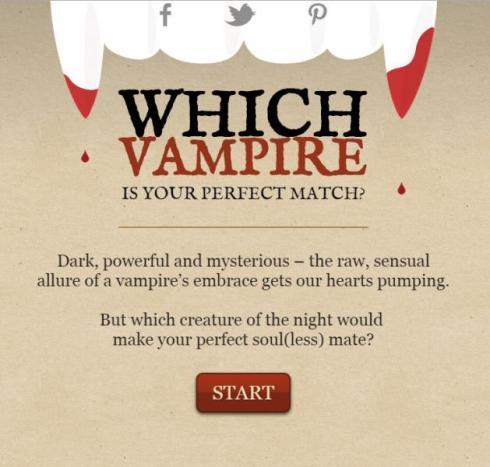 Vampire boyfriend